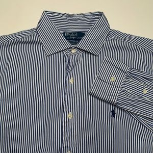 Polo Ralph Lauren Stanton Blue White Striped